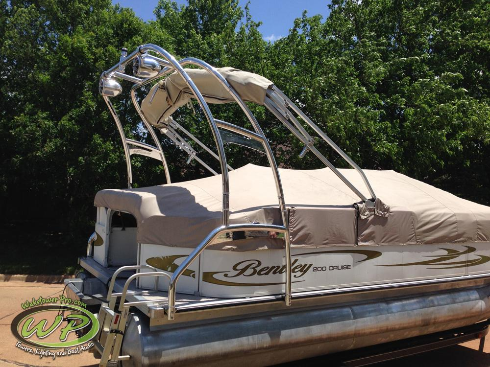 Aerial F250 Pontoon Tower (Starting at $2,900.00 Installed)