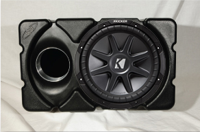 WW.MSELoaded MS-E 10 in. Kicker Subwoofer Marine Box Loaded
