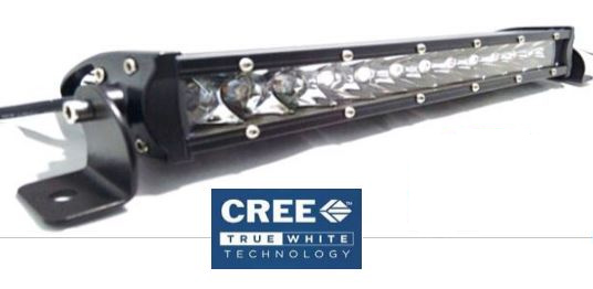 Epic EL-SLP12 Epic 12 in. LED Slimline Pro Series Light Bar - 4,800 Lumens
