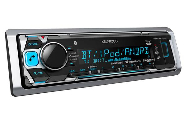 Kenwood KMR-M315BT Kenwood M315 AM/FM/Bluetooth Digital Media Marine Receiver (No CD)