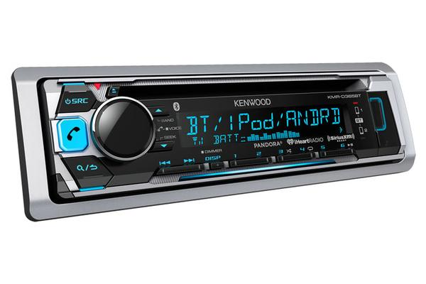 Kenwood KMR-D365BT Kenwood D362 AM/FM/CD/SiriusXM Ready/Bluetooth Marine Receiver