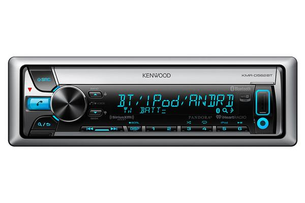Kenwood KMR-D562BT Kenwood D562 CD/AM/FM/SiriusXM Ready/Bluetooth Marine Receiver
