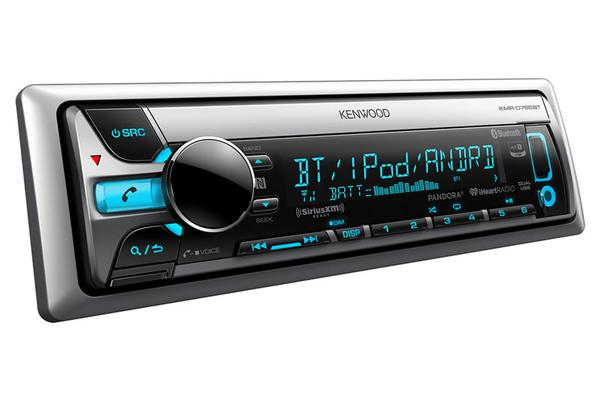 Kenwood KMR-D765BT Kenwood D765 CD/AM/FM/SiriusXM Ready/Bluetooth Marine Receiver