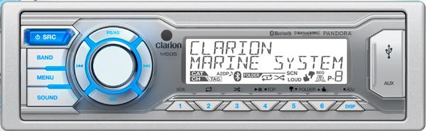 Clarion M505 Clarion M505 Marine Digital Media Receiver with Bluetooth