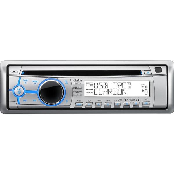 Clarion M303 Clarion M303 MP3/Bluetooth/AM/FM/CD Marine Stereo with Pandora